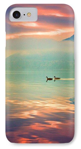 Morning Swim IPhone Case by Tara Turner