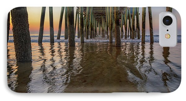 Morning Under The Pier, Old Orchard Beach IPhone Case