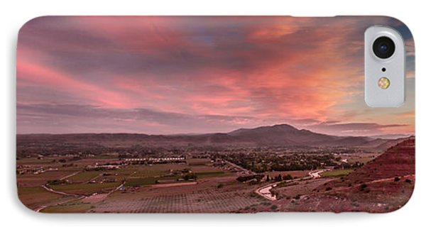 Morning View Over Emmett Valley IPhone Case