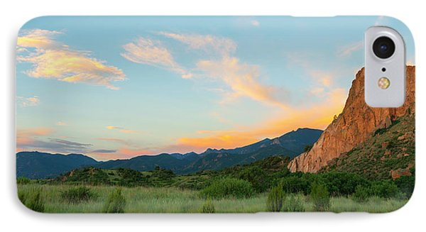 IPhone Case featuring the photograph Morning View by Tim Reaves
