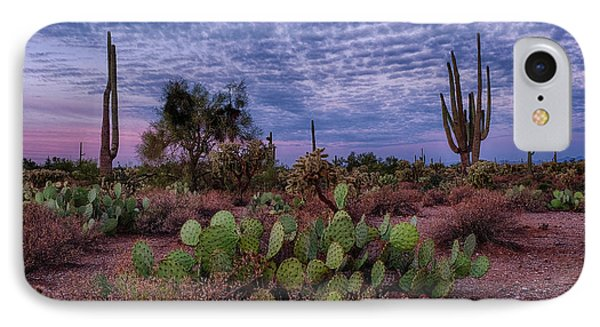 Morning Walk Along Peralta Trail IPhone Case by Monte Stevens