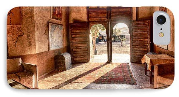 Moroccan Kasbah IPhone Case by Kathy Adams Clark