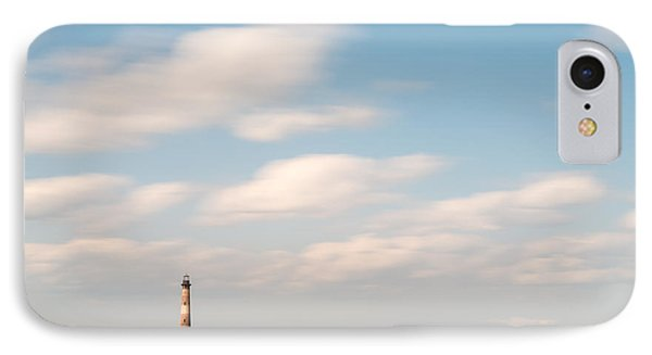 Morris Island Lighthouse Color IPhone Case