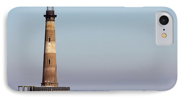 Morris Island Lighthouse South Carolina IPhone Case by Dustin K Ryan