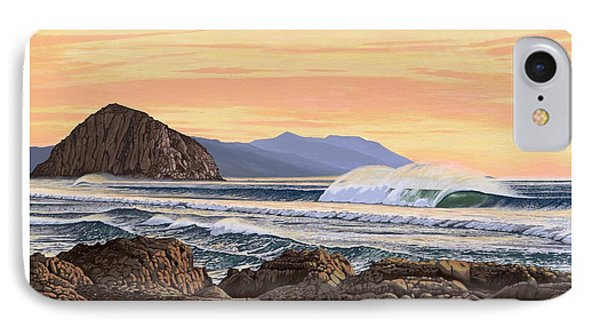 Morro Bay California IPhone Case by Andrew Palmer