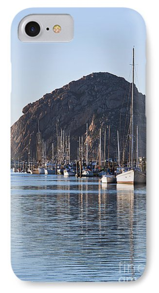 Morro Bay Sailboats Phone Case by Bill Brennan - Printscapes