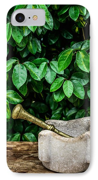 Mortar And Pestle IPhone Case by Marco Oliveira