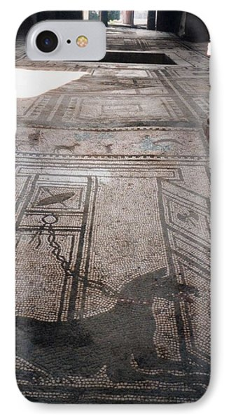 Mosaic In Pompeii IPhone Case by Marna Edwards Flavell