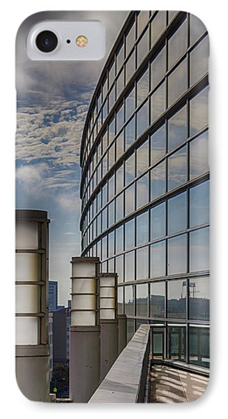 IPhone Case featuring the photograph Moscone West Balcony by Darcy Michaelchuk