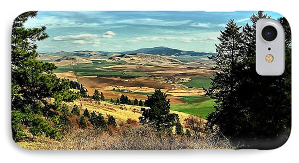 Moscow Mountain From Kamiak Butte IPhone Case by Farol Tomson
