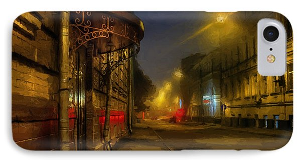 IPhone Case featuring the photograph Moscow Steampunk Sketch by Alexey Kljatov