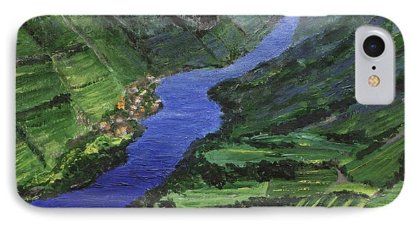IPhone Case featuring the painting Moselle River by Jamie Frier