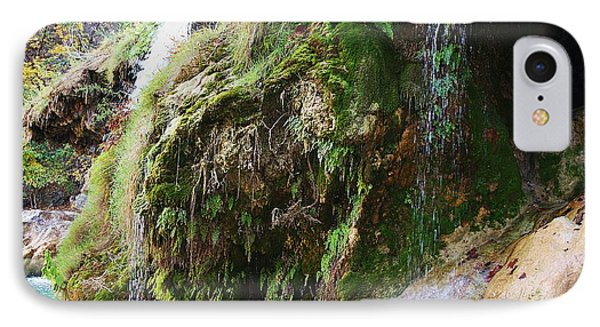 IPhone Case featuring the photograph Moss And Waterfalls by Sheila Brown