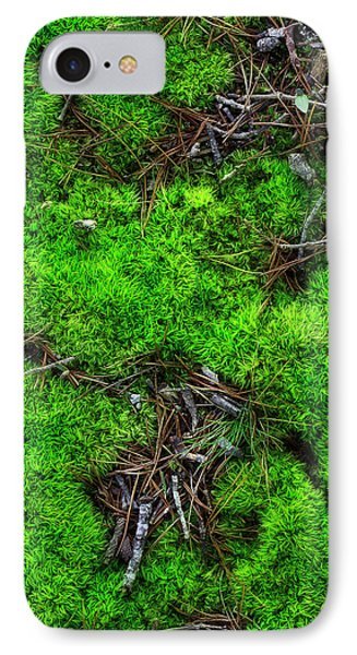 IPhone Case featuring the photograph Moss On The Hillside by Mike Eingle