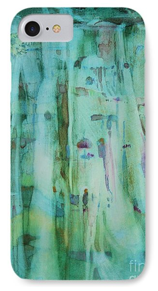 Mossy Falls IPhone Case by Elizabeth Carr
