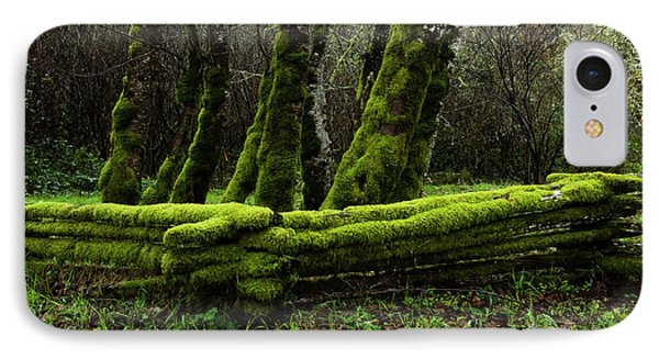 Mossy Fence 3 Phone Case by Bob Christopher