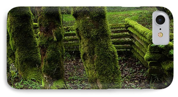 Mossy Fence Phone Case by Bob Christopher