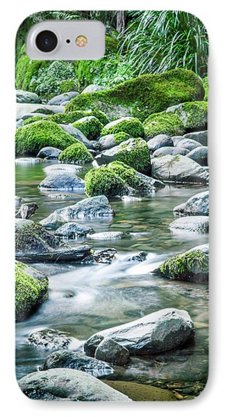 Mossy Forest Stream IPhone Case by Az Jackson