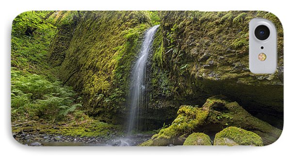 Mossy Grotto Falls In Summer Phone Case by David Gn