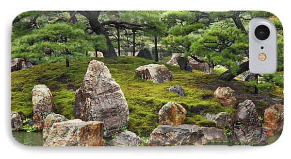 Mossy Japanese Garden Phone Case by Carol Groenen