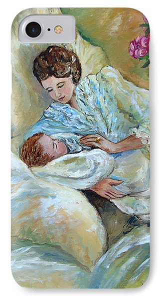 Mother And Child By May Villeneuve IPhone Case