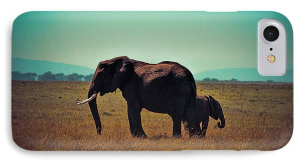 IPhone Case featuring the photograph Mother And Child by Karen Lewis