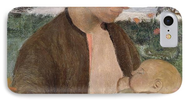 Mother And Child Phone Case by Paula Modersohn Becker