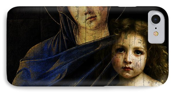 Mother And Child Reunion  IPhone Case by Paul Lovering