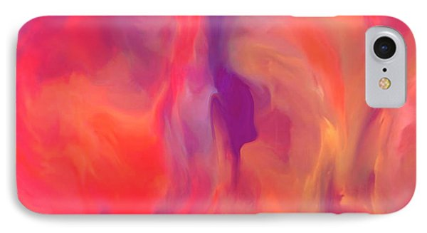 Mother And Daughter Abstract IPhone Case by Sherri's Of Palm Springs