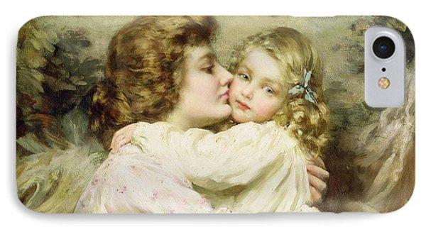 Mother And Daughter  Phone Case by Thomas Benjamin Kennington