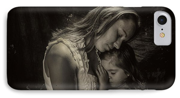 Mother Daughter IPhone Case by Kevin Cable