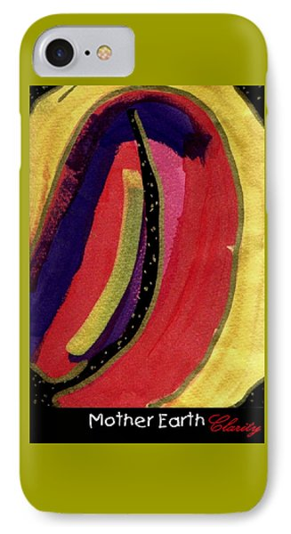 IPhone Case featuring the painting Mother Earth by Clarity Artists