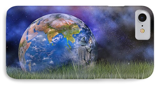 Mother Earth Series Plate4 IPhone Case