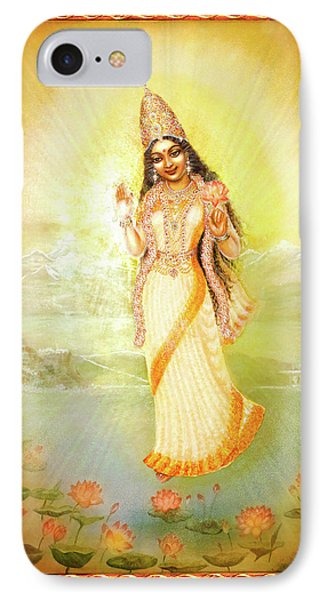Mother Goddess Lalitha Phone Case by Ananda Vdovic