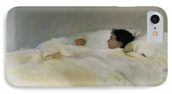 Mother IPhone Case by Joaquin Sorolla y Bastida
