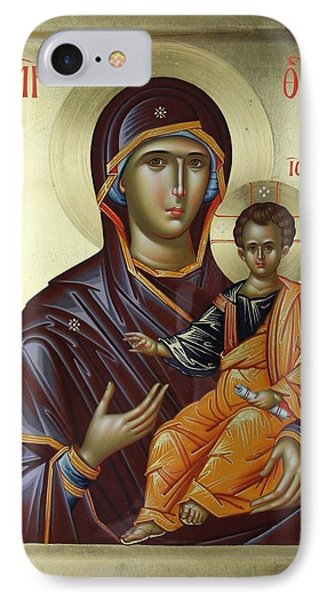 Mother Of God Hodighitria Phone Case by Daniel Neculae