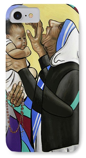 Mother Teresa, A Prayer From The Heart IPhone Case