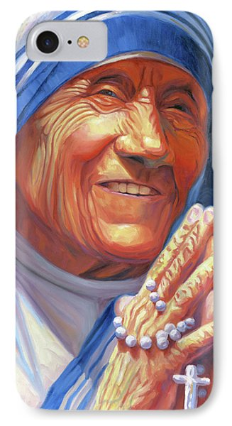 Mother Teresa IPhone Case by Steve Simon