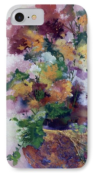 Mother's Day Floral IPhone Case by Helen Harris