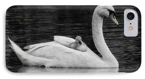 Mothers Precious Cargo Bw IPhone Case by Susan Candelario