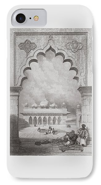 Moti Musjid Or Pearl Mosque IPhone Case
