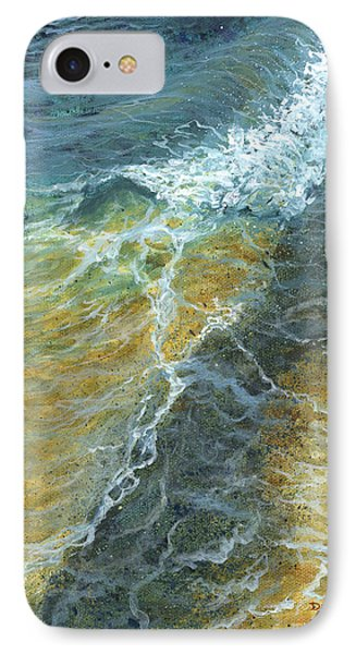 IPhone Case featuring the painting Motion Of The Ocean by Darice Machel McGuire