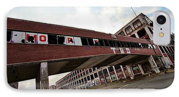 Motor City Industrial Park The Detroit Packard Plant Phone Case by Gordon Dean II