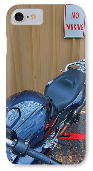 IPhone Case featuring the photograph Motorcycle Privilege by Britt Runyon
