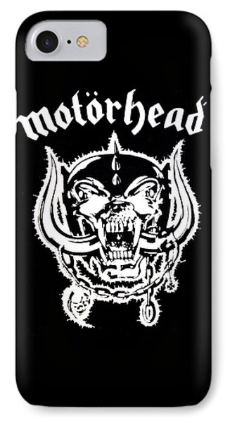 Motorhead IPhone Case by Gina Dsgn