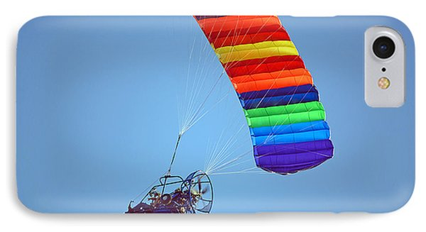 Motorized Parasail 2 IPhone Case by Kenneth Albin