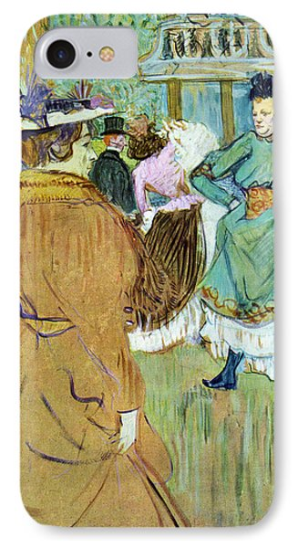 Moulin Rouge IPhone Case by Toulouse Lautrec