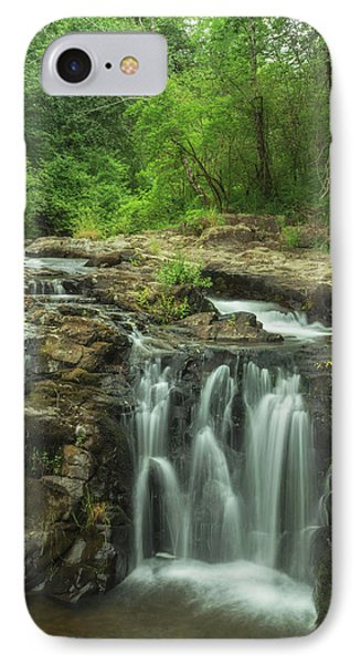 IPhone Case featuring the photograph Yacolt Falls by Angie Vogel