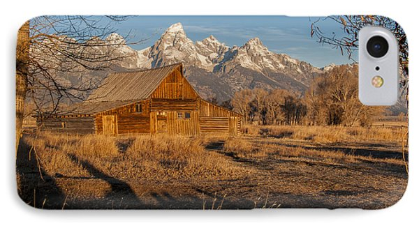 IPhone 7 Case featuring the photograph Moulton Barn by Gary Lengyel