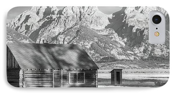 IPhone Case featuring the photograph Moulton Homestead - Bunkhouse by Colleen Coccia